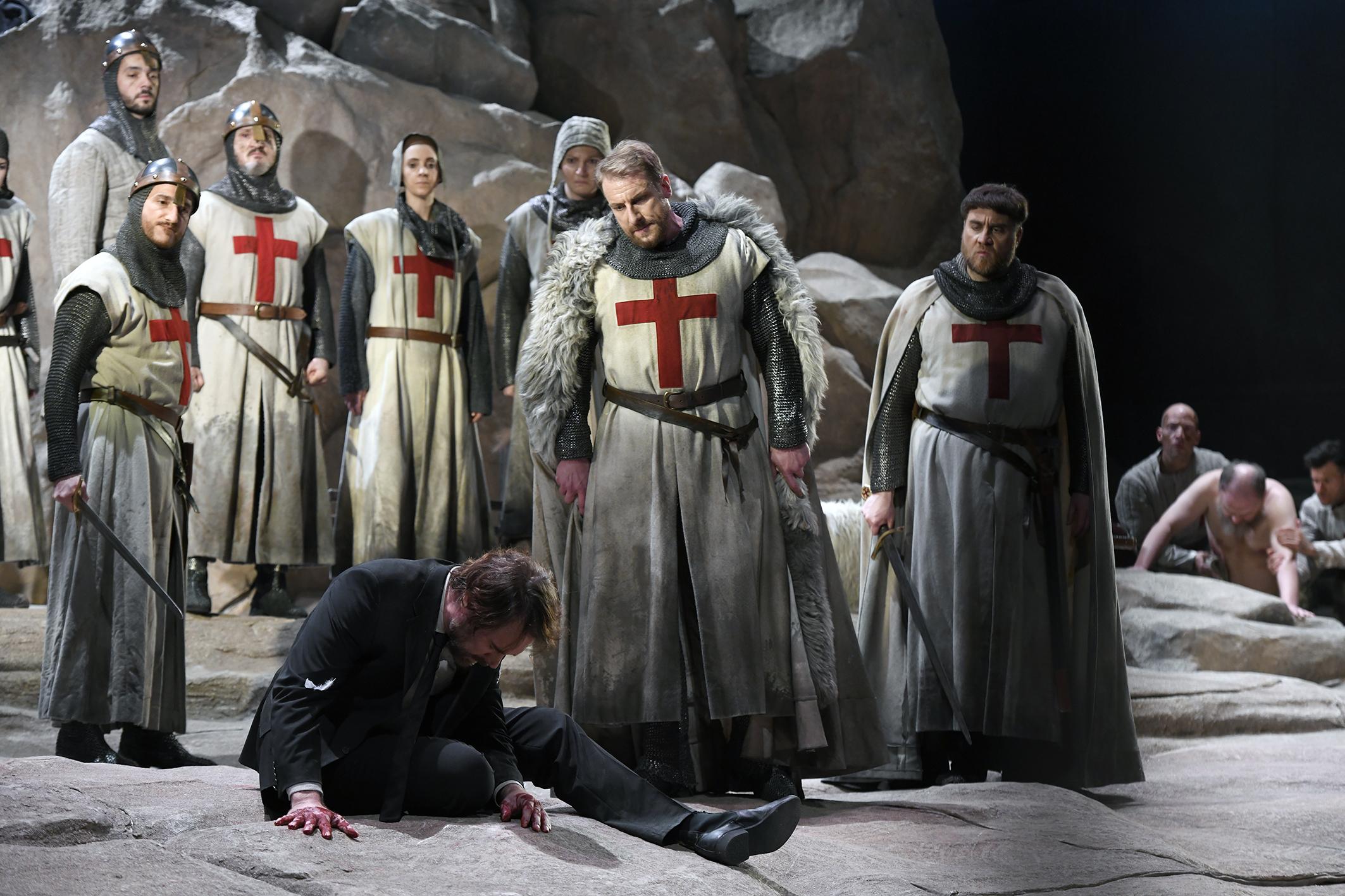 Berliinin Parsifal jäi lähtötelineisiin