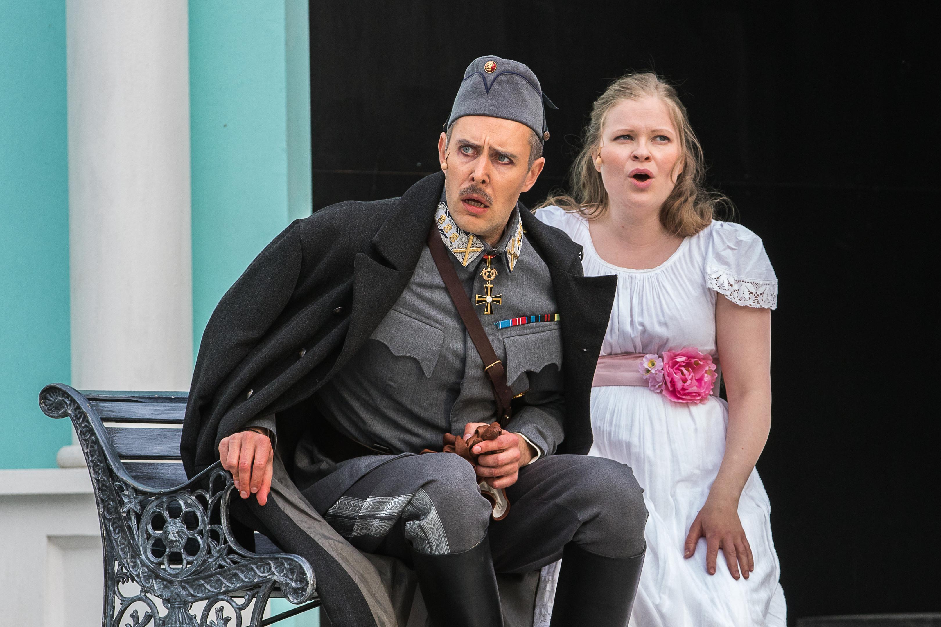 Ilmajoen Mannerheim on operetti